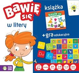 Gra + książka. Bawię się w litery 5901761112924