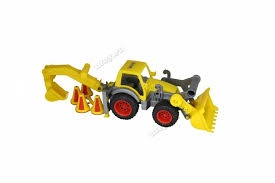 quot;ConsTruck quot;traktor-ładowarka z przycz.
