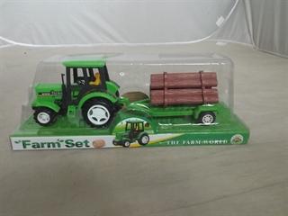 Traktor z przyczepą TG364379