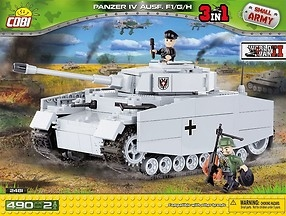 *SMALL ARMY /2481/ PZKPFW IV AUSF.F1/G/H490 KL.