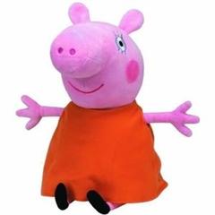 *Maskotka BB Lic Peppa Pig-Mamy Pig MET