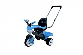 Rowerek 3- kołowy  quot;Amigo quot; z ogrodzeniem, klaksonem, rączką i miękkim siedzeniem