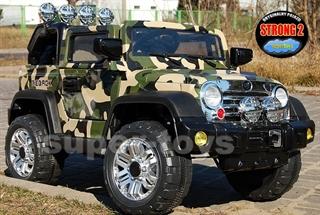 PROM Jeep moro na akumulator R/C JJ235 DRA
