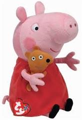 *Beanie Babies Lic PEPPA PIG med