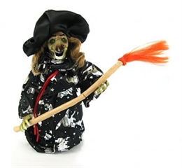 Postać wiedźma świecąca-czarna GoD hallow
