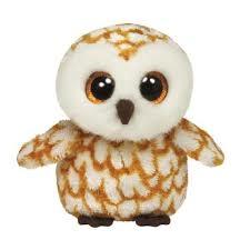 *Beanie Boos SWOOPS - brown barn owl medium