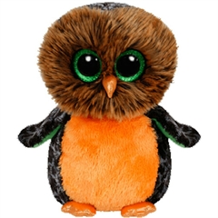 *Beanie Boos MIDNIGHT - orange owl med