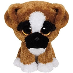 *Maskotka Beanie Boos BRUTUS - boxer dog