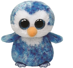 *Beanie Boos ICE CUBE - blue penguin med
