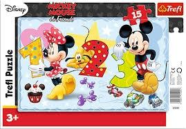 31241  quot;15 Ramkowe - Policzmy razem quot; / Disney Standard Characters