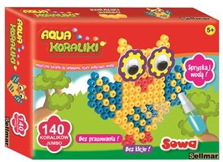 Aqua Koraliki sowa A203 SEL