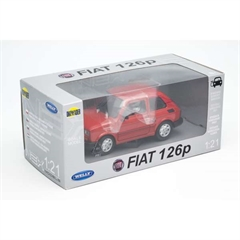 WELLY Fiat 126P 1:21 DRO