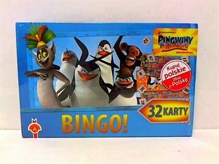 S.CENA Bingo-Pingwiny z Madagaskaru serial ALEX
