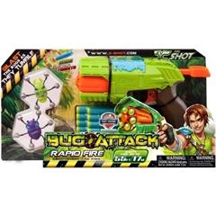 *Zuru X-Shot-Bug Attack,Rapid Fire XSH4801 2 ROBAKI,8 STRZAŁEK