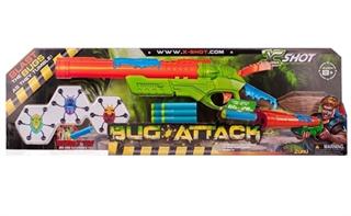 *Zuru X-Shot-Bug Attack,Eliminator 3 ROBAKI,8 STRZAŁEK XSH4802