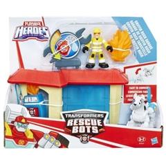 PROM Playskool Heroes B4964 Pożar na stacji