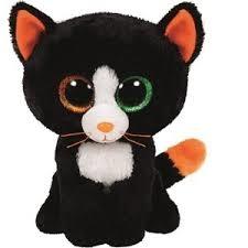 *Maskotka Beanie Boos FRIGHTS - black cat medium