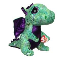 *Maskotka Beanie Boos CINDER - green dragon