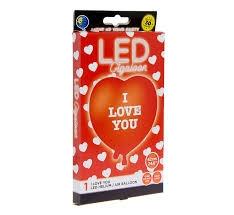 Balon foliowy świecący LED I love You GoD