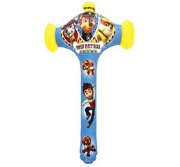 Dmuchaniec młot Crazy Bumper Paw Patrol 50cm z dzwonkiem 105218 God