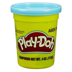 PROM Play-Doh Tuba Pojedyńcza B6756 Niebieska