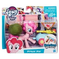 S.CENA Hasbro B7296-My little Pony-Guardiansof Harmony Pinkie Pie