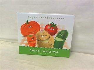 Śmiałe warzywa-układanka