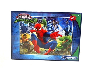 -CLE puzzle 100 Spider.Man 07259