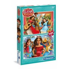 -CLE puzzle 2x60 Elena di Avalor