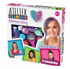 Atelier glamour kolorowe włosy 00866 DRO