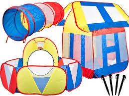 Namiot z basenem na piłki MALIS