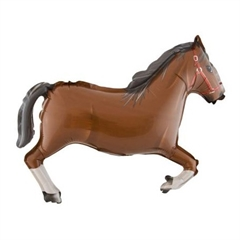 Balon Foliowy quot;14 Koń brązowy