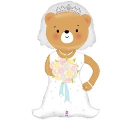 INT Balon Linky Bride Bear SP 35594-P