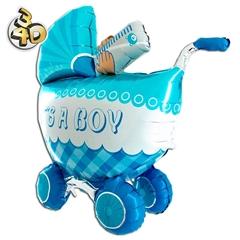 Balon wózek 3D boy