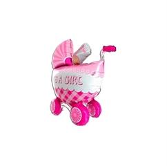 Balon Wózek 3D girl