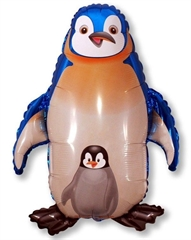 Balon foliowy Pingwin