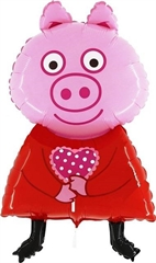 Balon foliowy Peppa