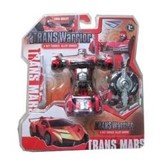 -Transformer auto wojownik z metalu NOR