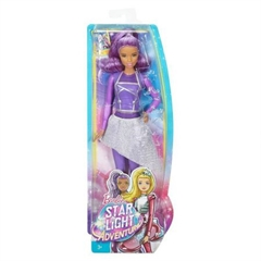 S.CENA Barbie gwiezdna przygoda lalka kosmitkaDLT39