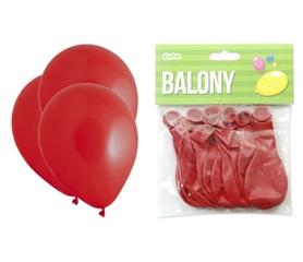 Balony Premium czerwone, 10 quot;/ 10 szt.
