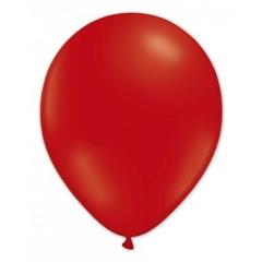 BALON czerwony 12szt, średnica 24cm