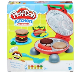 PROM Play-Doh Burger Party B5521 HASBRO