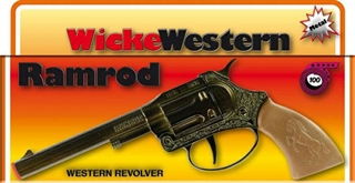 S.CENA Pistolet metal ramrod na taśmę pudełko