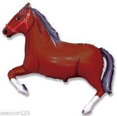 Balon Grabo 14 apos; apos; Koń ciemny Braz Mini