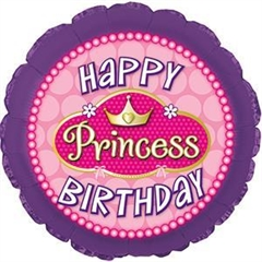 CTI 114545 18 apos; apos; Happy Birthday Princess Pink Pearl -P