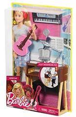 S.CENA Barbie Lalka muzyk instrumenty mixFCP73