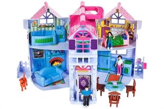 Domek dla lalek Villa rozkładany MAL