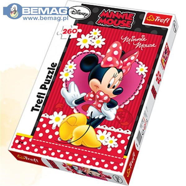 TREFL PUZ.260 Minnie 13139