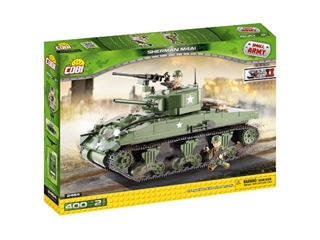 *SMALL ARMY /2464/ SHERMAN M4A1 400 KL.