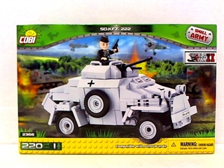 *SMALL ARMY /2366/ SD.KFZ 222 220 KL.